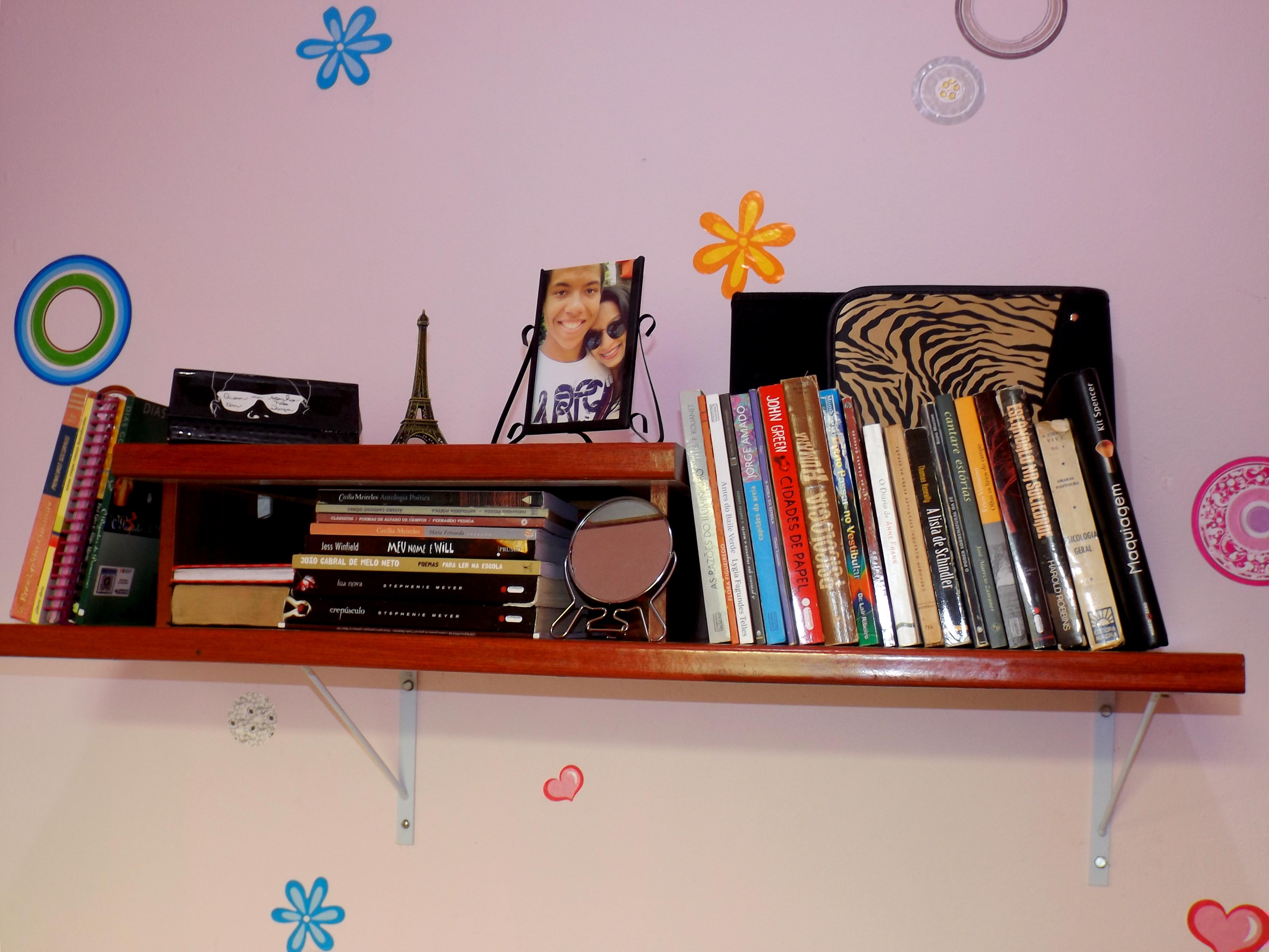 Transformando: Móvel velho/madeira em Estante nova de livros! #  #B32518 4608x3456